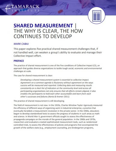 Shared Measurement
