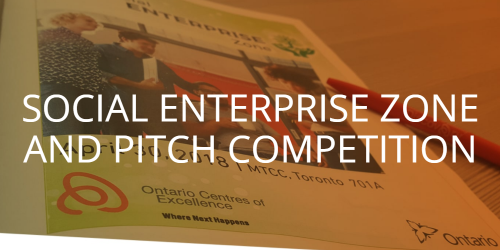 Social Enterprise Zone and Pitch Competition
