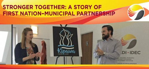 A Story Of First Nation municipal Partnership