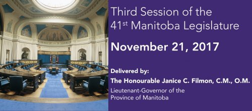 Third Session of the 41st Manitoba Legislature