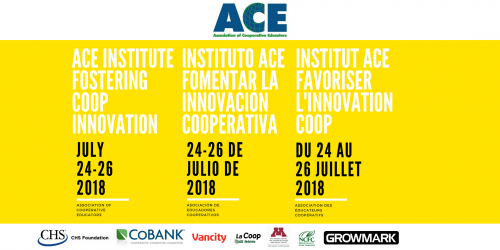 2018 ACE Institute – Fostering Coop Innovation