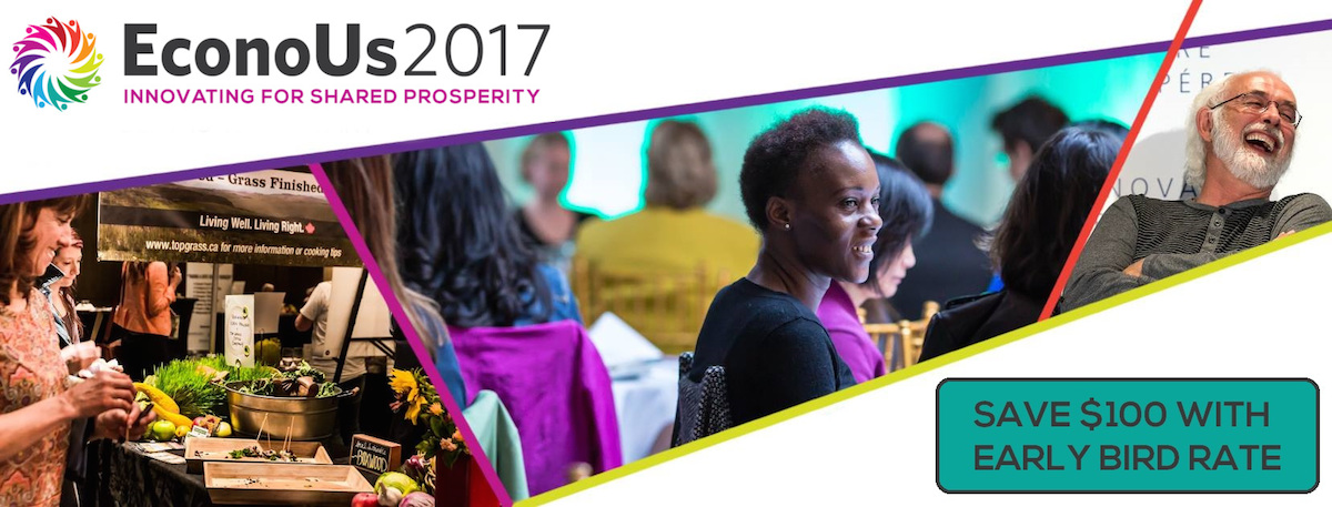 EconoUs2017: Innovating for Shared Prosperity (save $100 with early bird rate)