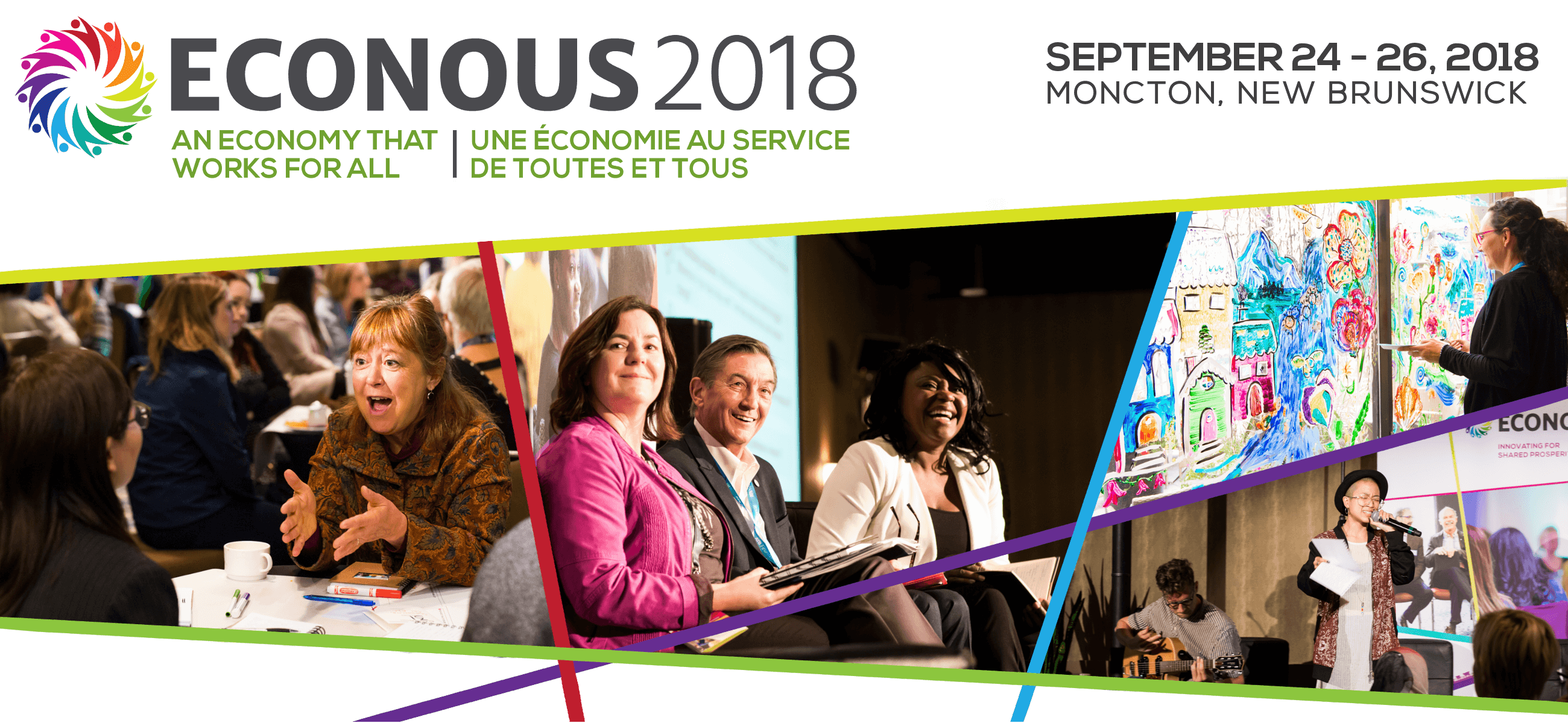 EconoUs2018: An Economy that Works for All (September 24-26, 2018 | Moncton, NB)