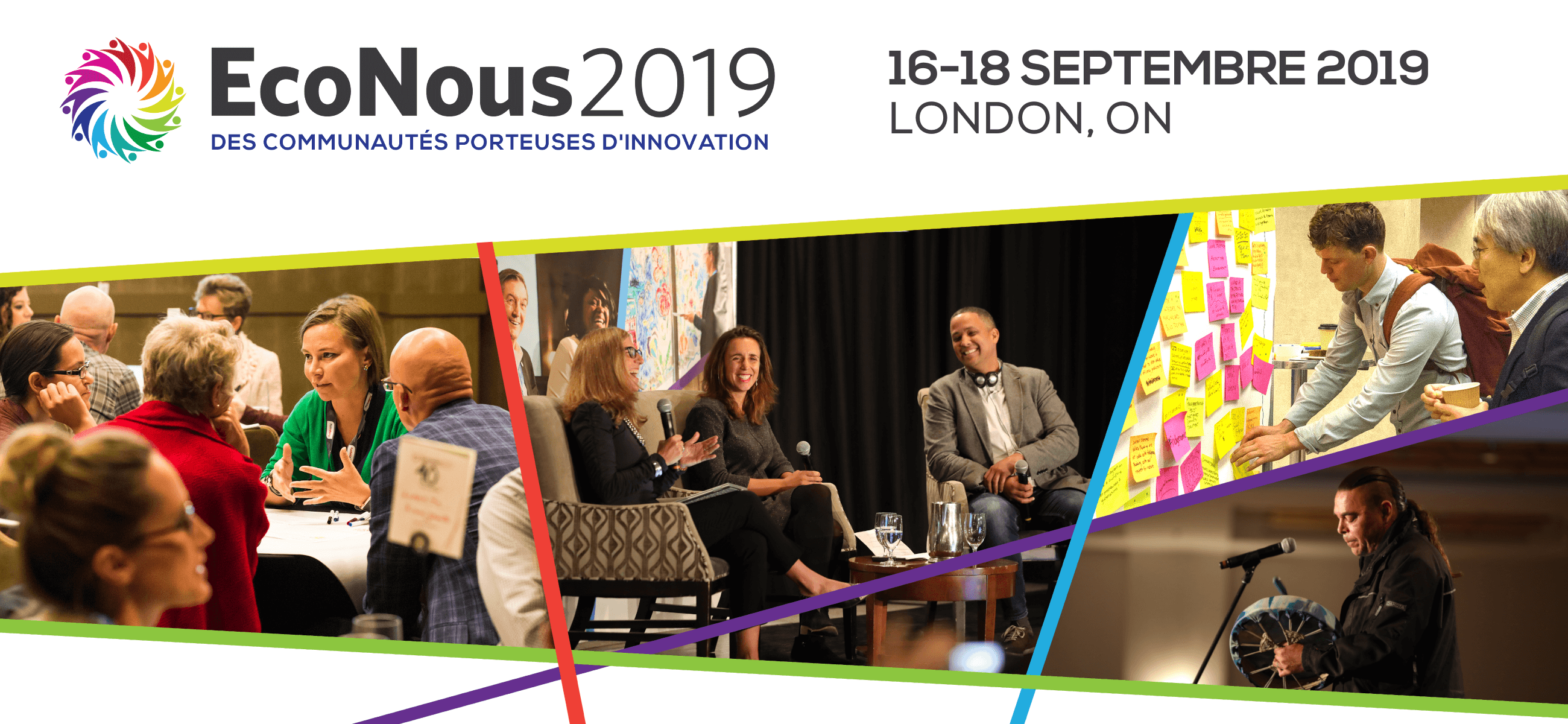 EcoNous2019 : des communautés porteuses d'innovation (16-18 septembre, London, ON)
