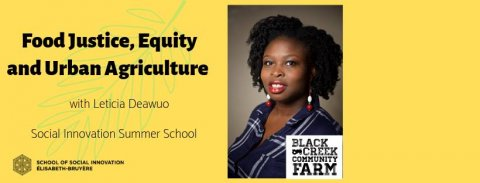Food Justice, Equity and Urban Agriculture