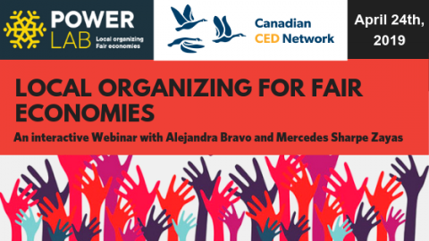 Local Organizing for fair economies