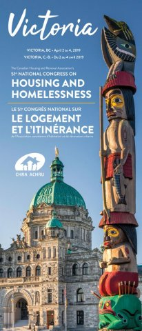 51st National Congress on Housing and Homelessness (Victoria, BC, April 2-4, 2019)