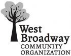 West Broadway Community Organization logo