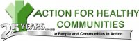 Action for Healthy Communities logo