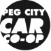 Peg City Car Co-op logo