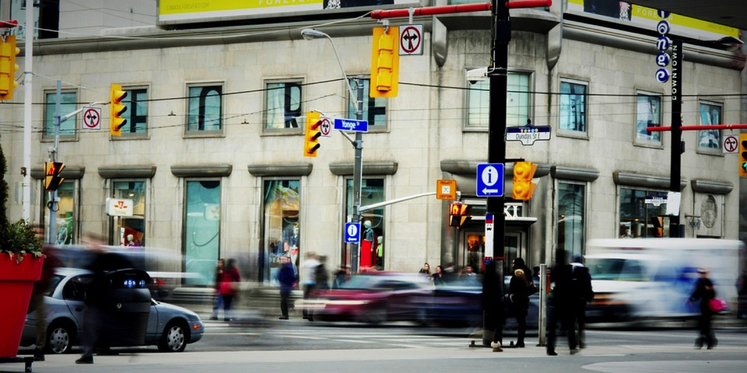Toronto's rapid urban growth presents an opportunity for change